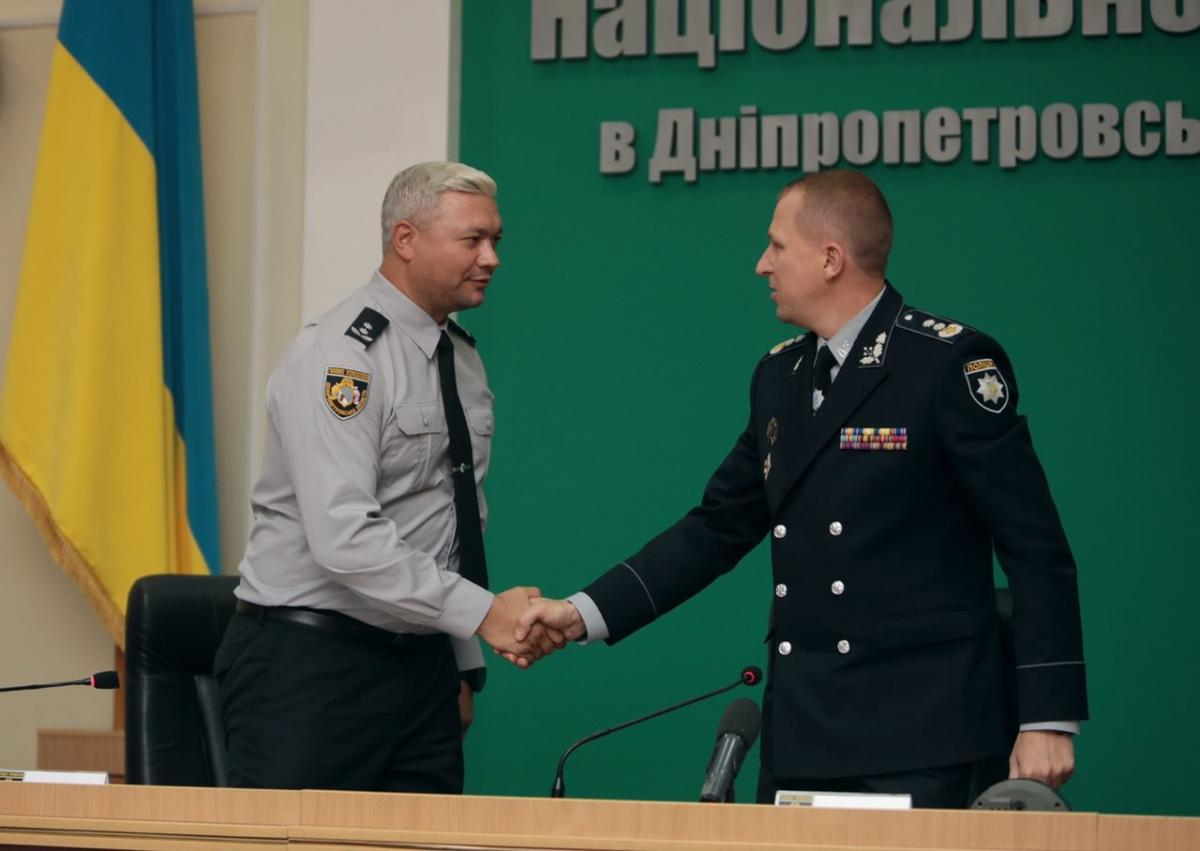 Володимир Огурченко та В'ячеслав Аброськін / фото поліції