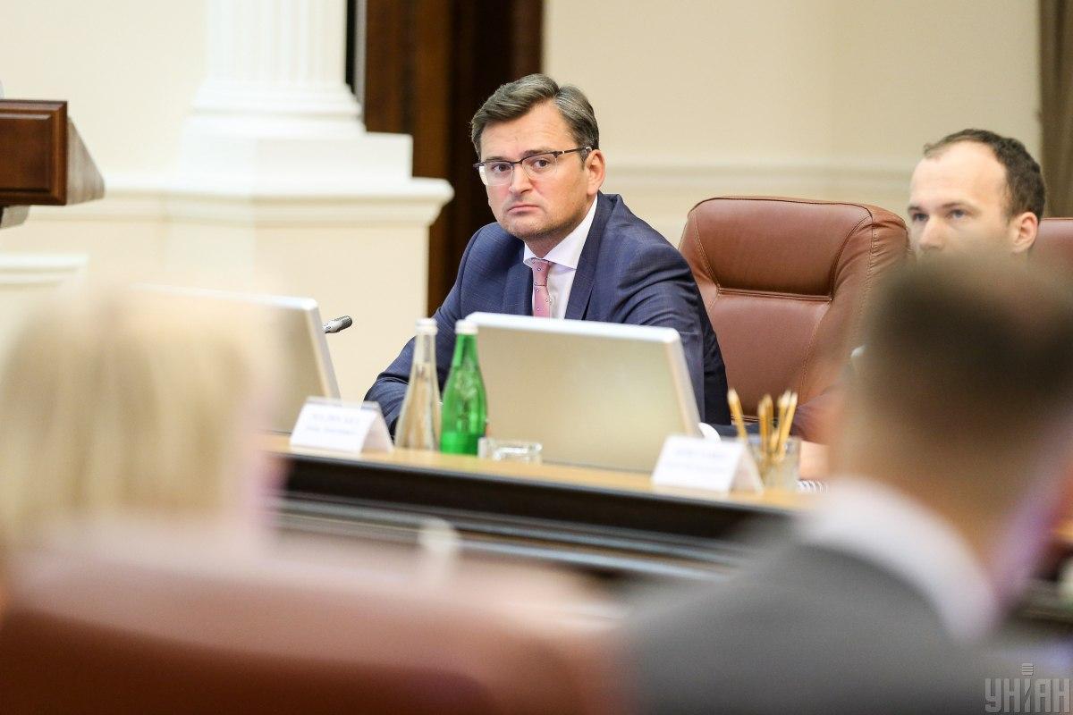 По словам Кулебы, курс государства на евроинтеграцию не подлежит пересмотру / УНИАН