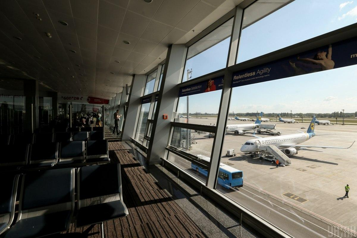 Аэропорт временно ограничивает работу / УНИАН