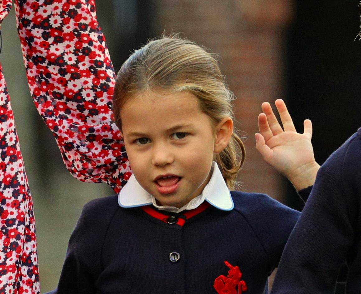 Принцесса Шарлотта / фото REUTERS