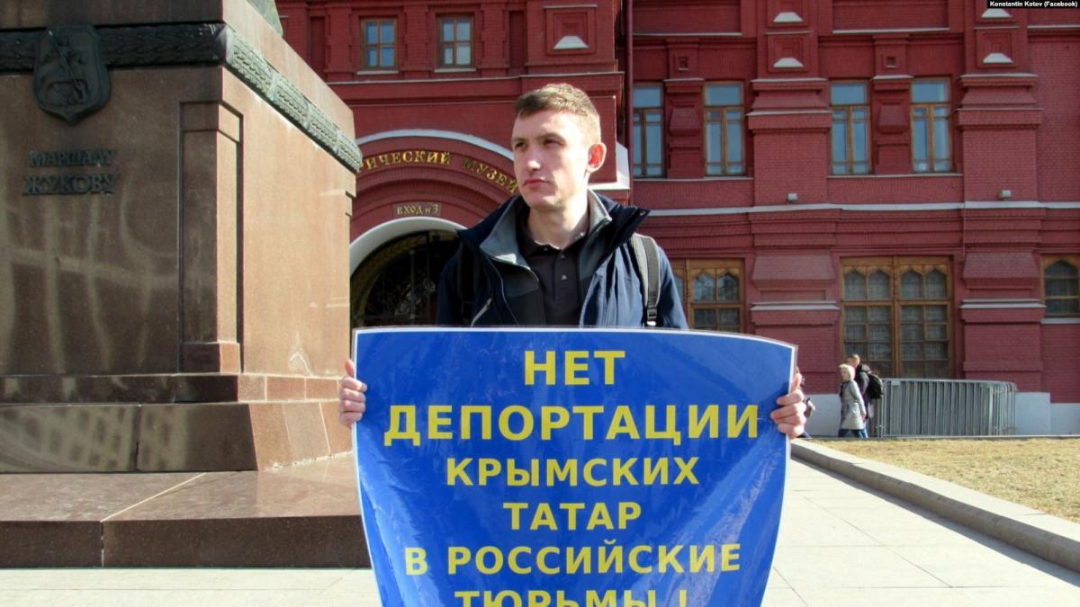 Антикремлевского активиста Котова осудили на четыре года / Facebook, Konstantin Kotov