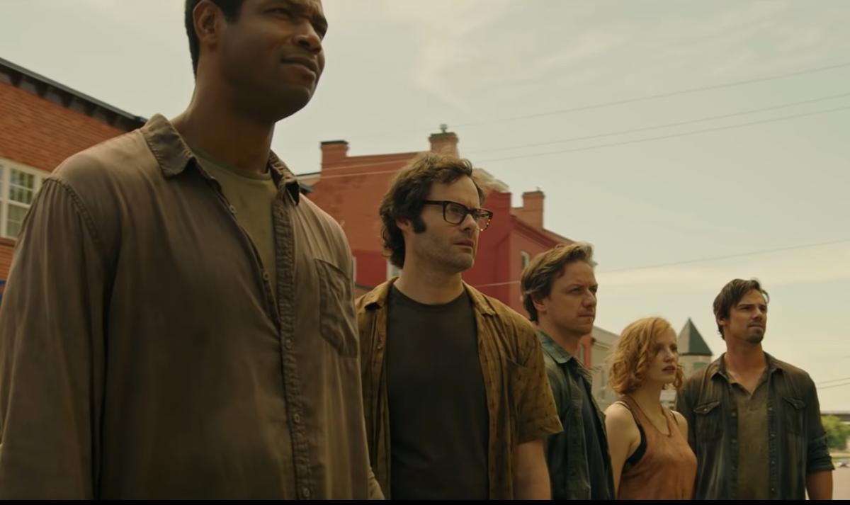 На головні ролі в Воно 2 покликали, серед інших, Джеймса Макевоя і Джесіку Честейн / скріншот - кадр з трейлера