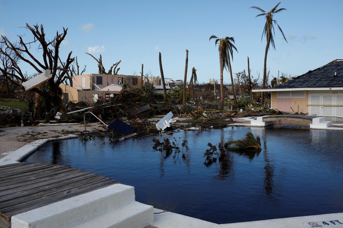 """Последствия урагана """"Дориан"""" / REUTERS"""