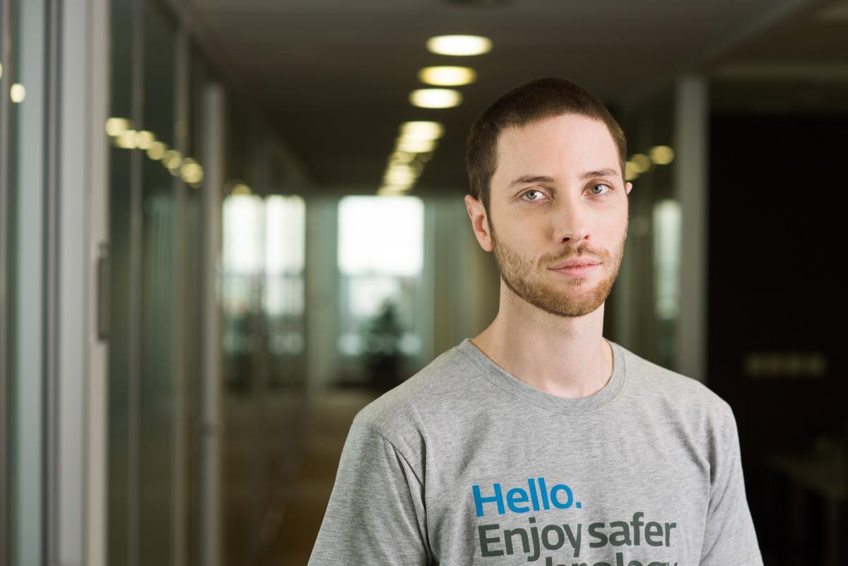 Специалист по кибербезопасности словацкой компании ESET Ондрей Кубович