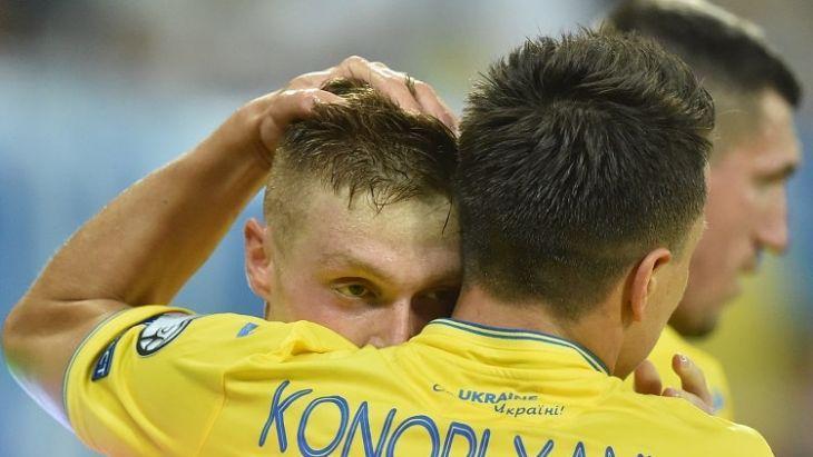 Сборная Украины в четырех матчах набрала 10 очков / фото: УАФ