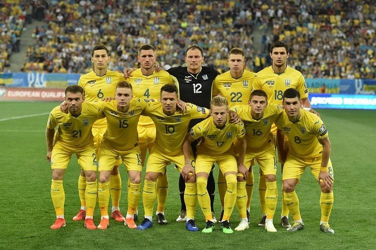 Сборная Украины попала в группу С / фото: УАФ