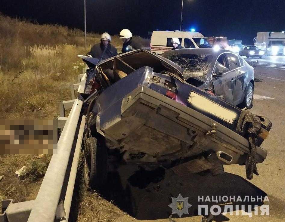 У моторошній ДТП на Житомирщині загинули чотири людини / фото поліції