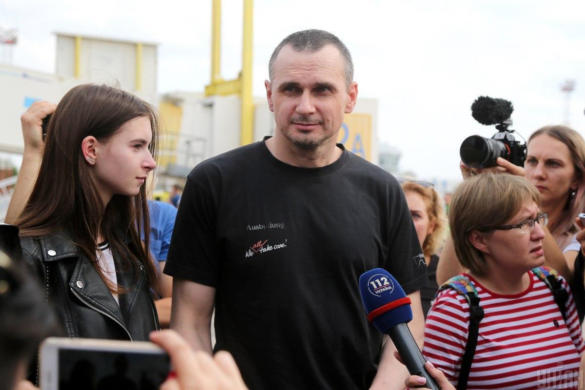 Сенцов рассказал о планах на жизнь / фото УНИАН