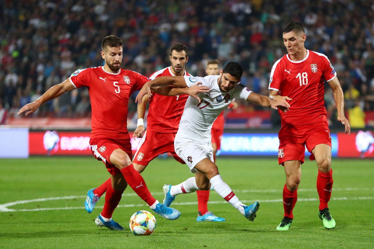 Сербия - Португалия / REUTERS