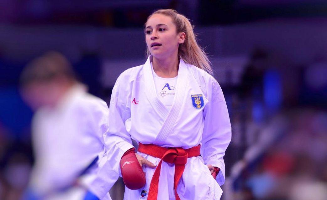 Anzhelika Terliuga / Photo fromNational Olympic Committee of Ukraine