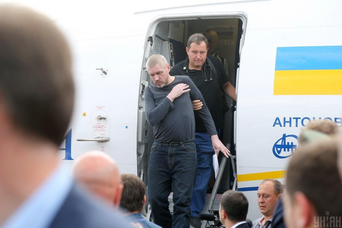 Освобожденный политзаключенный Николай Карпюк ранее говорил о плохом состоянии Клыха / УНИАН