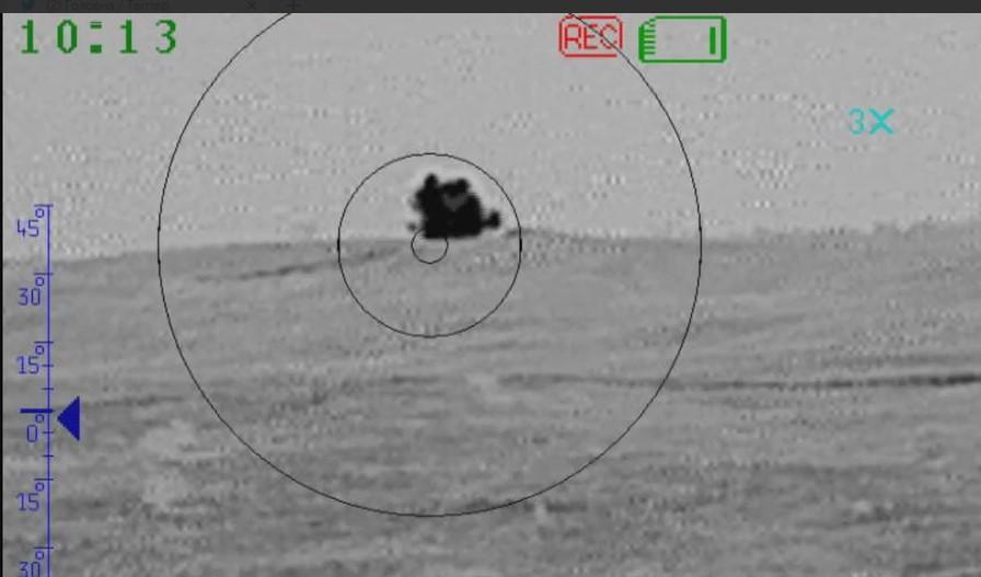 Силы ООС нанесли удар по оккупантам/ скриншот