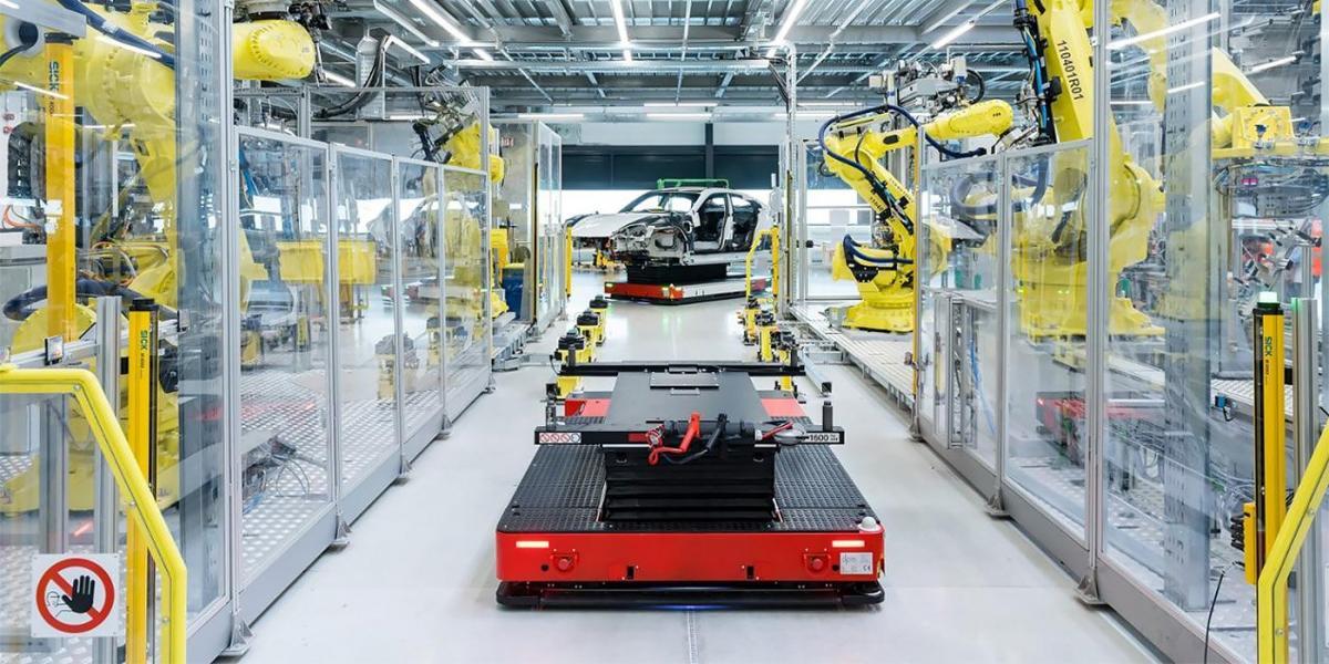 Общая площадь помещений составила 170000 кв. метров / фото Porsche