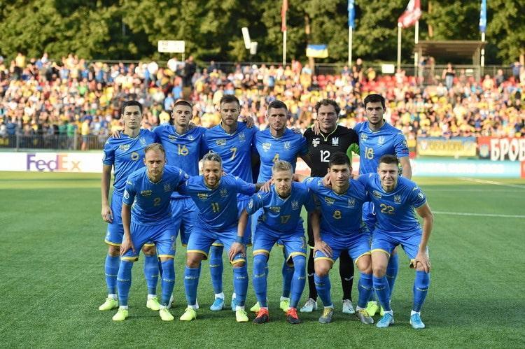 Сборная Украины провела первый товарищеский матчв 2019 году / фото: УАФ
