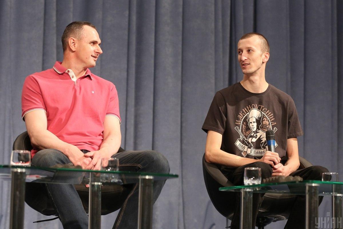 Кольченко хочет посмотреть новый фильм Тарантино, а Сенцов похвалил «Племя» Слабошпицкого / фото УНИАН