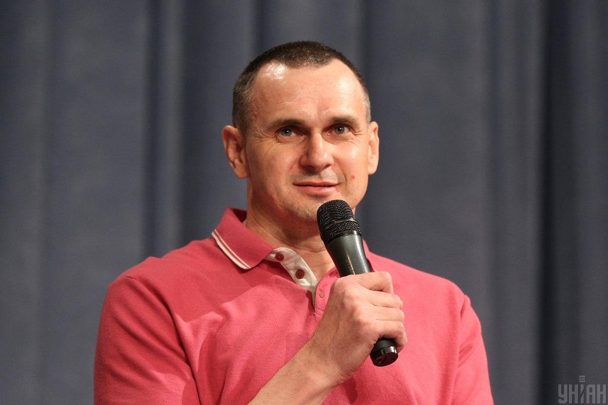 Звільнений із російського ув'язнення Сенцов подякував львів'янам за підтримку / фото УНІАН