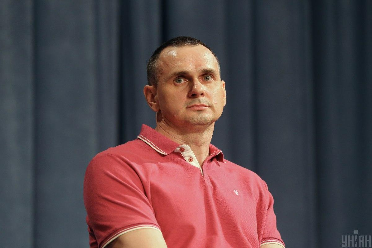 Олег Сенцов является лауреатом премии Сахарова / фото УНИАН