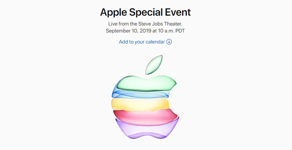 Презентация Apple состоится 10 сентября / фото apple.com