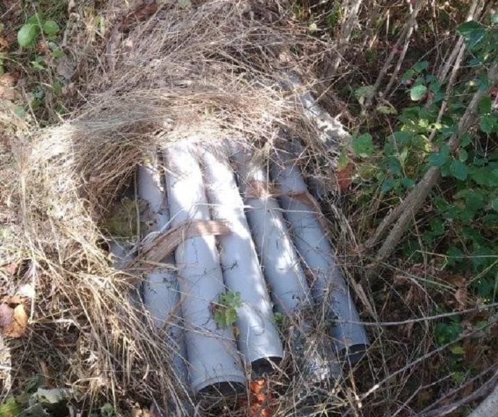 Копать трубопровод мужчины вернулись утром / фото пресс-службы ГНСУ