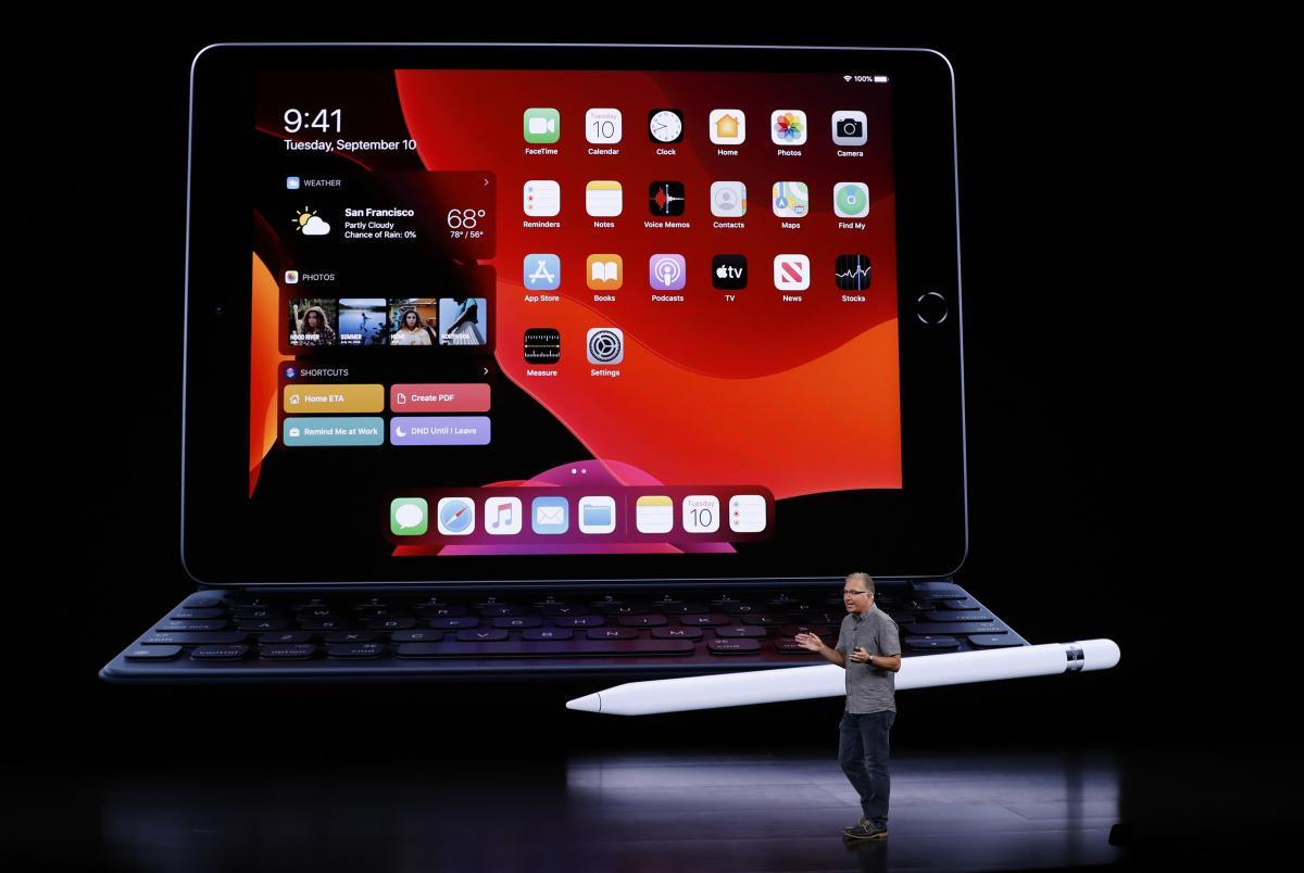 Презентация iPad / REUTERS