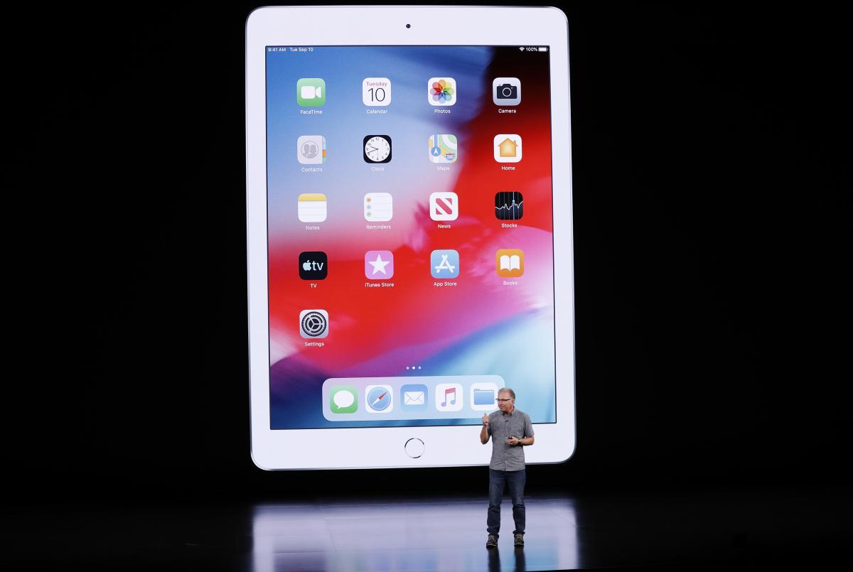 Цена на новую модель iPad стартует от 329 долларов / REUTERS