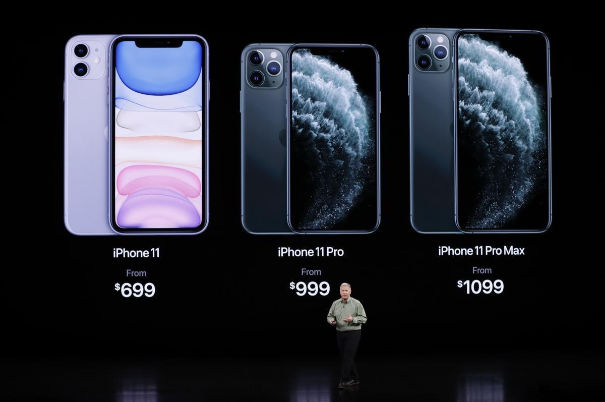 Цены на новые iPhone 11 / REUTERS