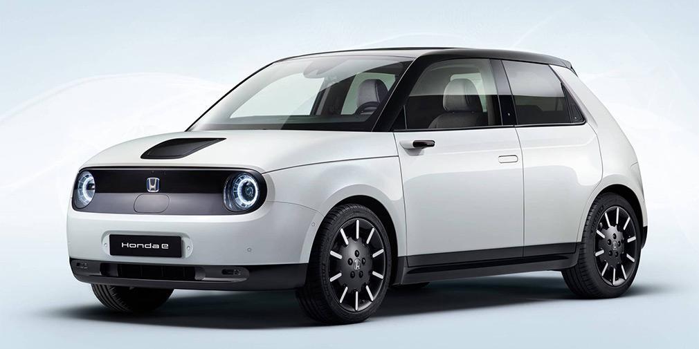 Объявлены цены наэлектромобиль Хонда e