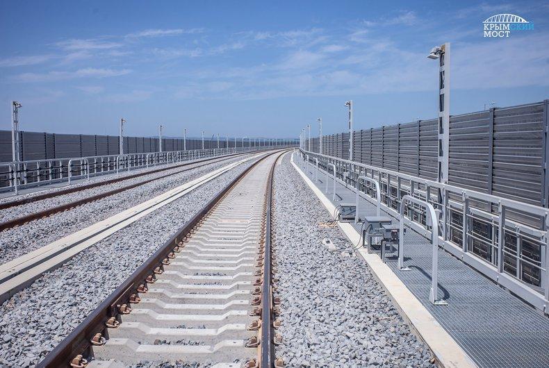 Движение железнодорожных составов по Крымскомумосту несет реальную угрозу для этого сооружения / фото most.life