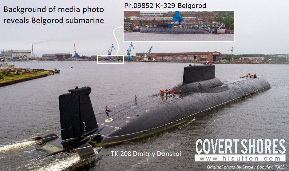 На данный момент субмарину К-329 «Белгород» все еще достраивают/ фото: hisutton