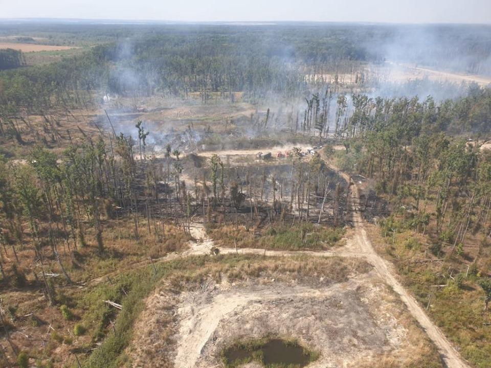 Пожар в Калиновке / Генштаб