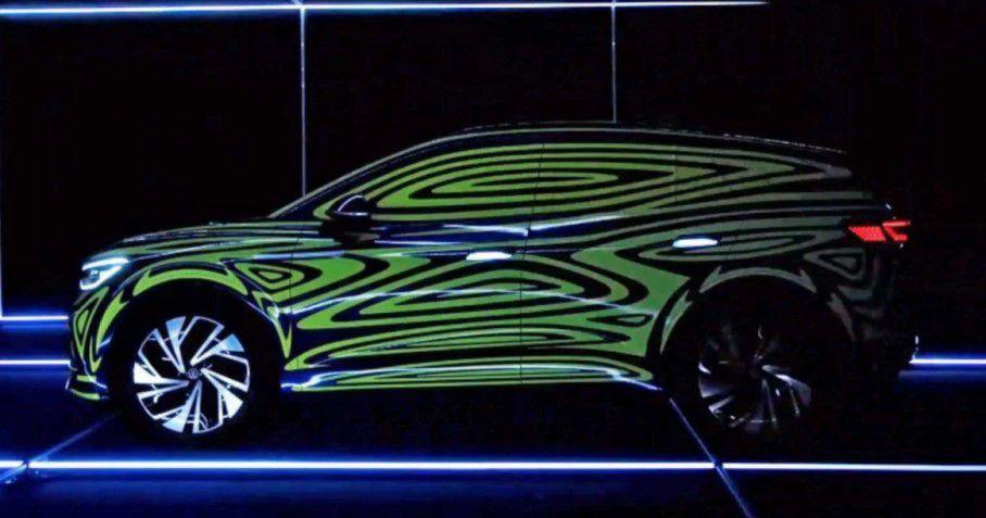Електричний кросовер побудують на базі купеподібного концепту ID. Crozz / фото Volkswagen