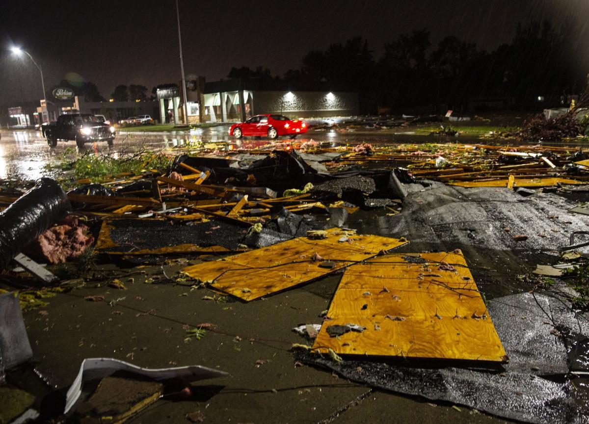 В США пронесся торнадо / twitter.com/abigaildollins