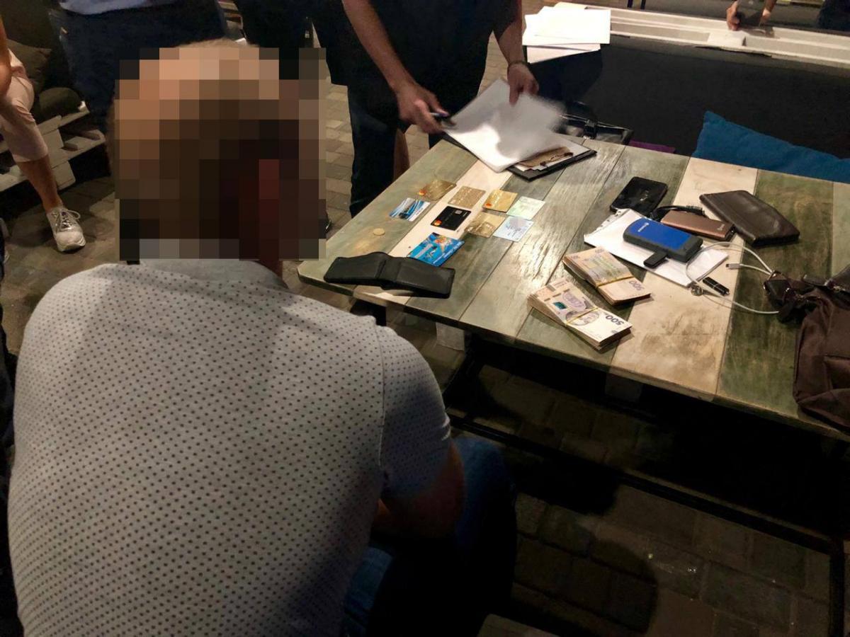 Капитану полиции грозит до 10лет лишения свободы / пресс-центр СБУ