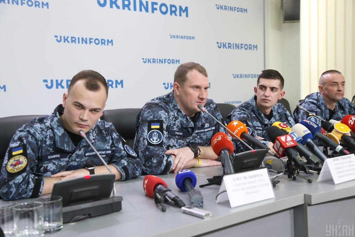 Моряки получили статус участника боевых действий / фото УНИАН