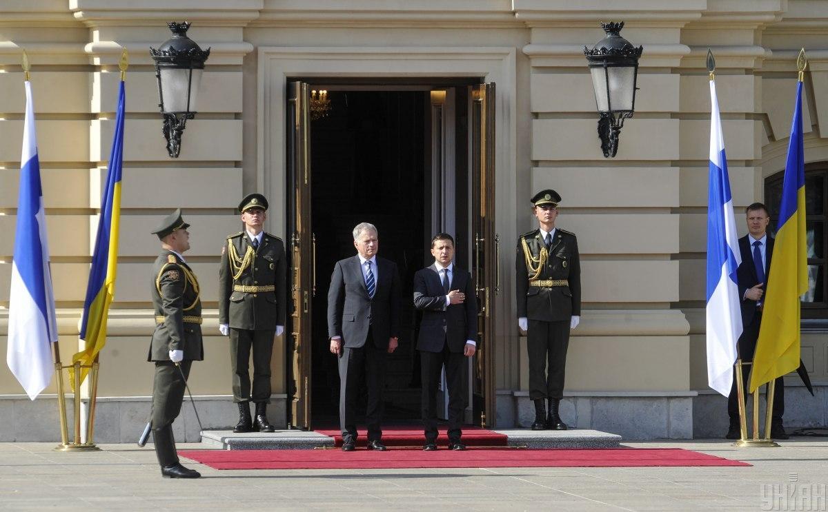Финляндия и Украина подписали два документа о сотрудничестве / фото УНИАН