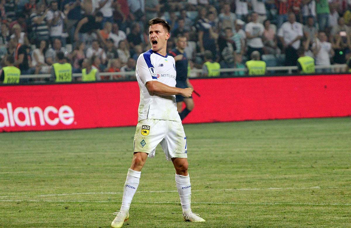 Беньямин Вербич в текущем сезоне провел 6 матчей за Динамо / фото: dynamo.kiev.ua