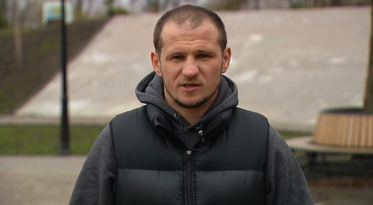 У Александра Алиева произошел конфликт с полицией / фото: dynamo.kiev.ua