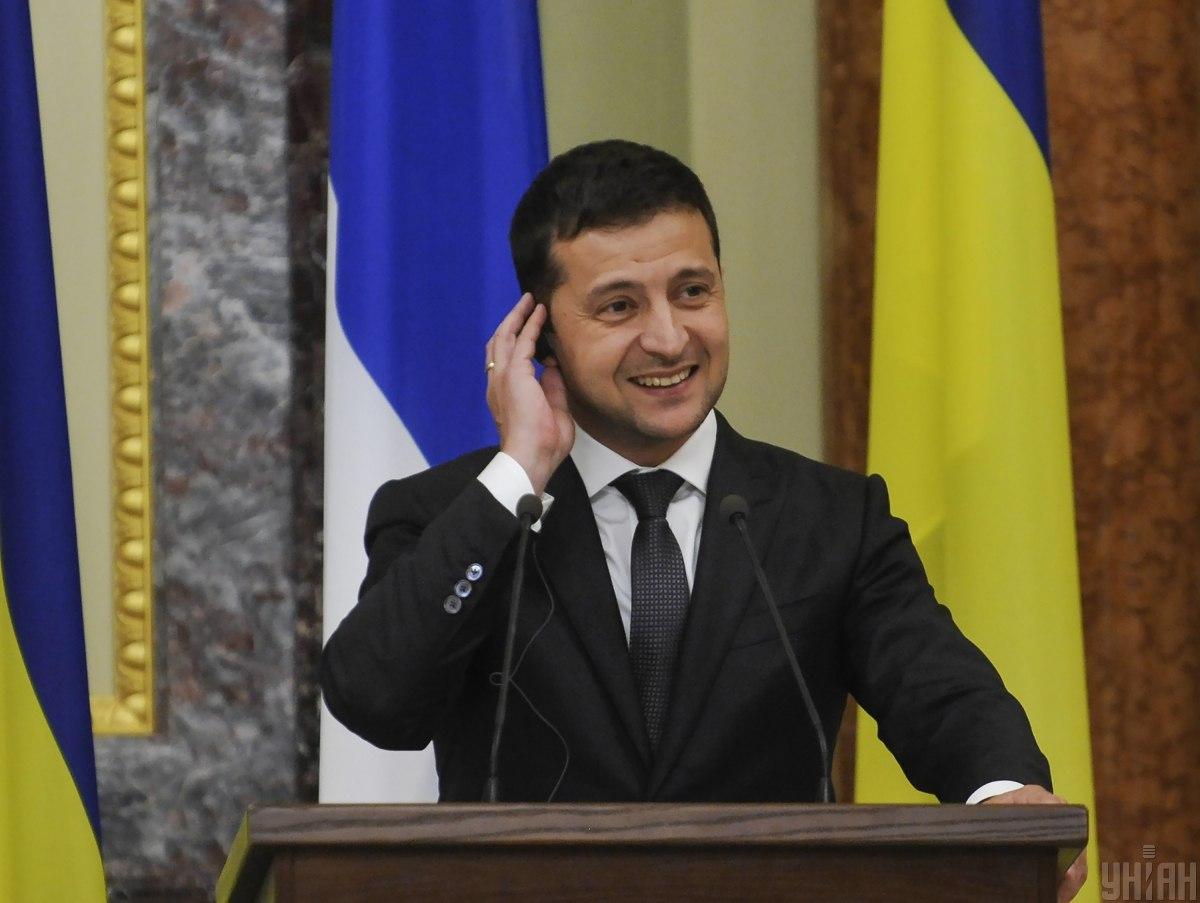 Владимир Зеленский поблагодарил США за поддержку и помощь / УНИАН