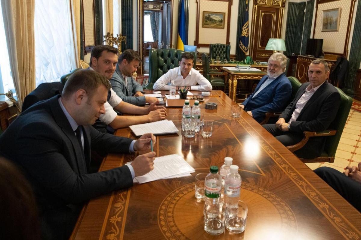 Зустріч з Ігорем Коломойським відбулася 10 вересня в Офісі президента / facebook.com/president.gov.ua