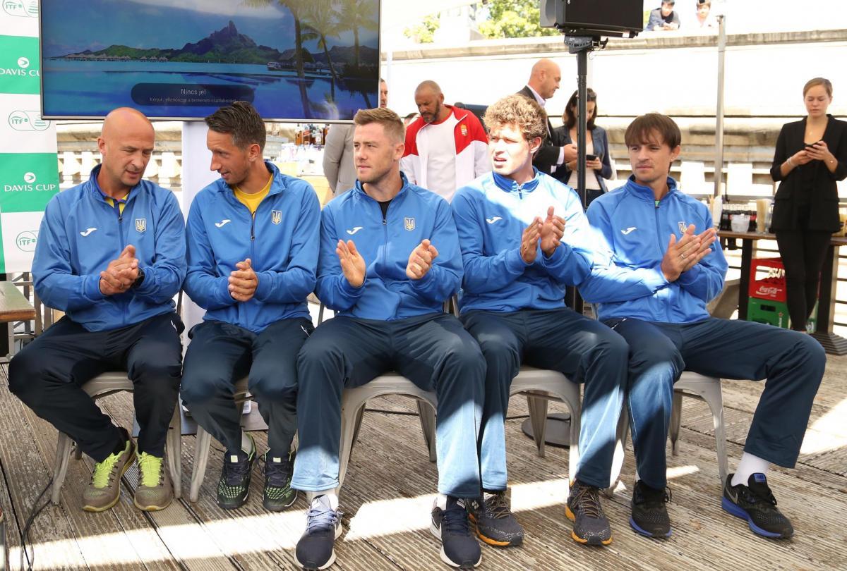Сборная Украины по теннису / фото: tennisua.org