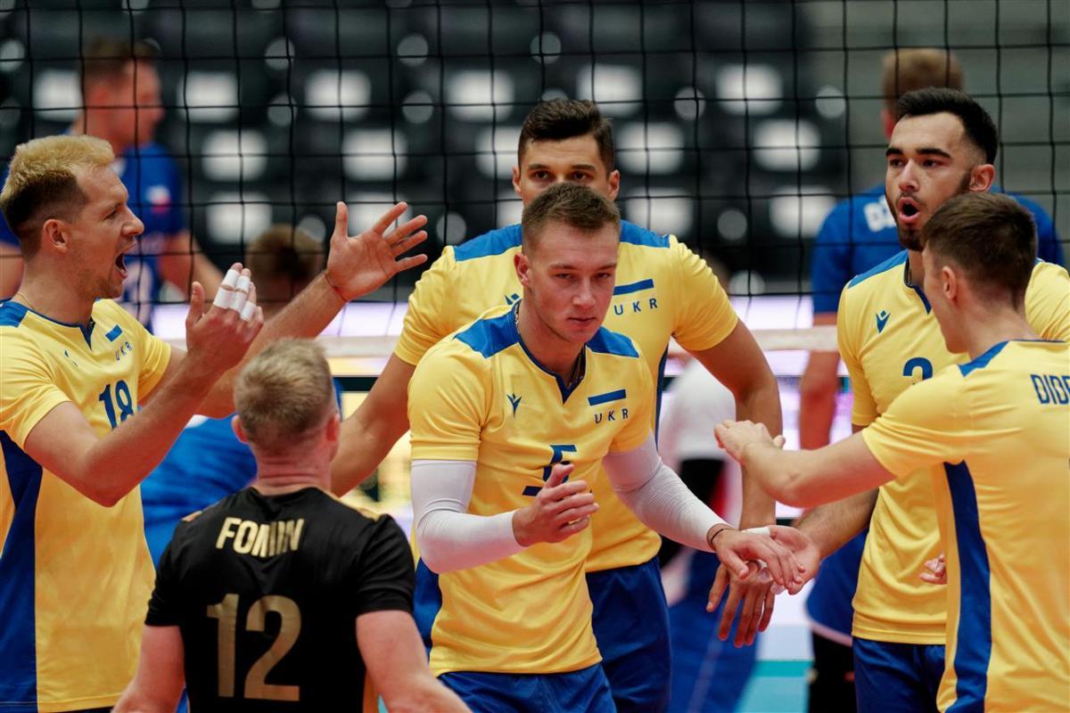 Збірна України обіграла чехів з рахунком 3:1 / фото: cev.eu