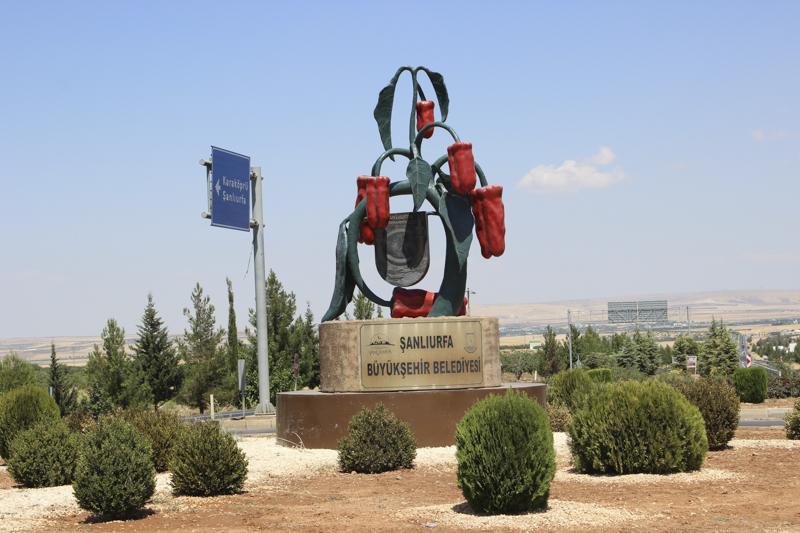 В Урфі можна побачити пам'ятники перцю / фото УНІАН