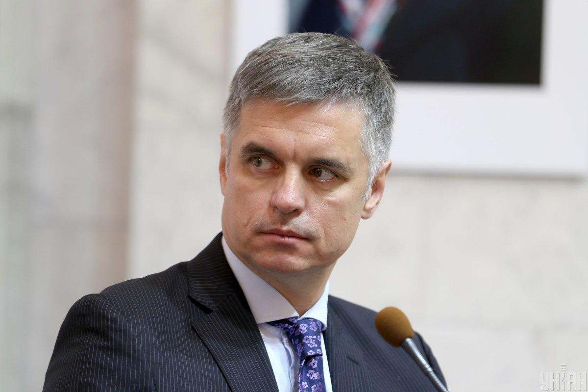 Foreign Minister of Ukraine Vadym Prystaiko / Photo from UNIAN