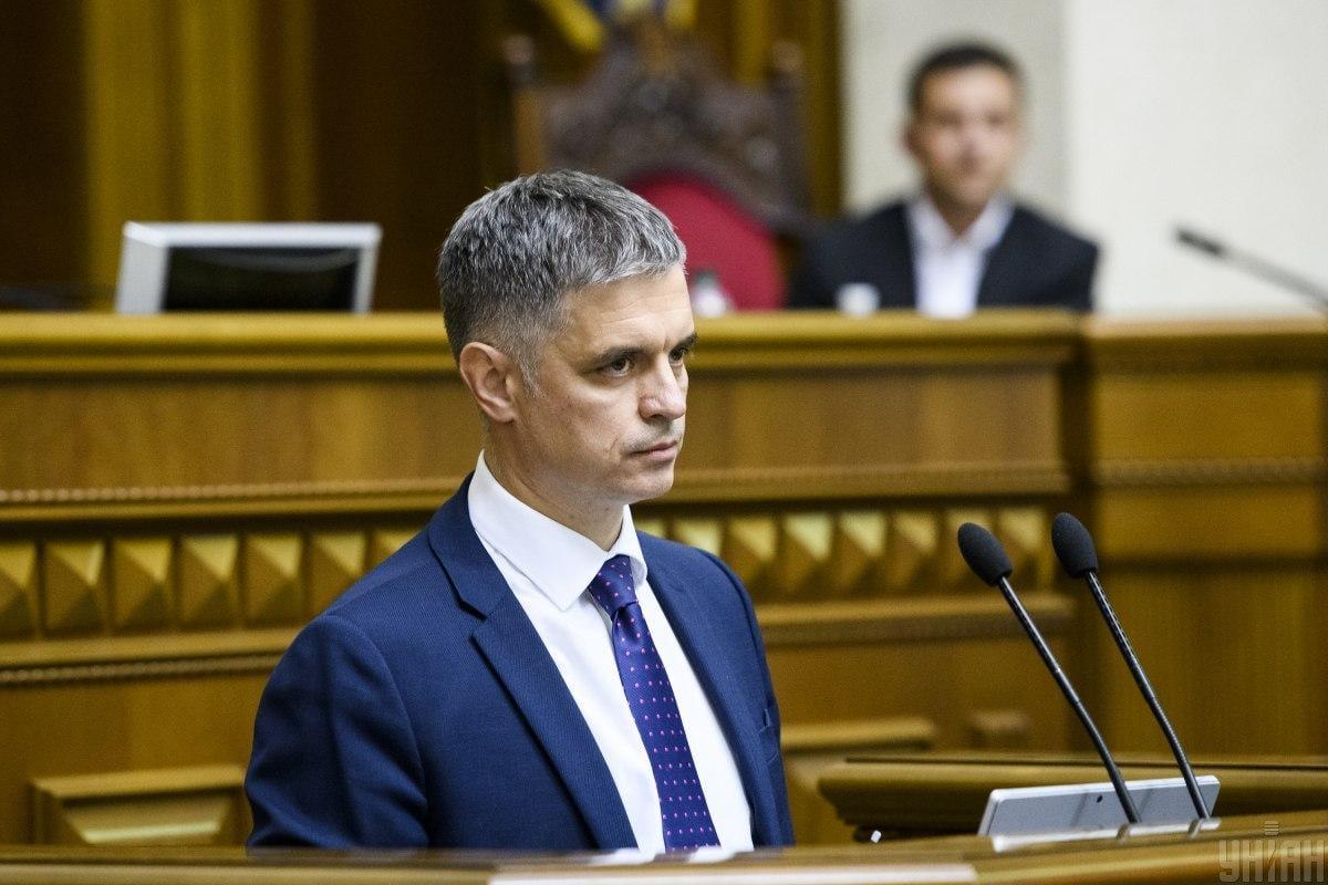 Министр иностранных делВадим Пристайко / фото УНІАН