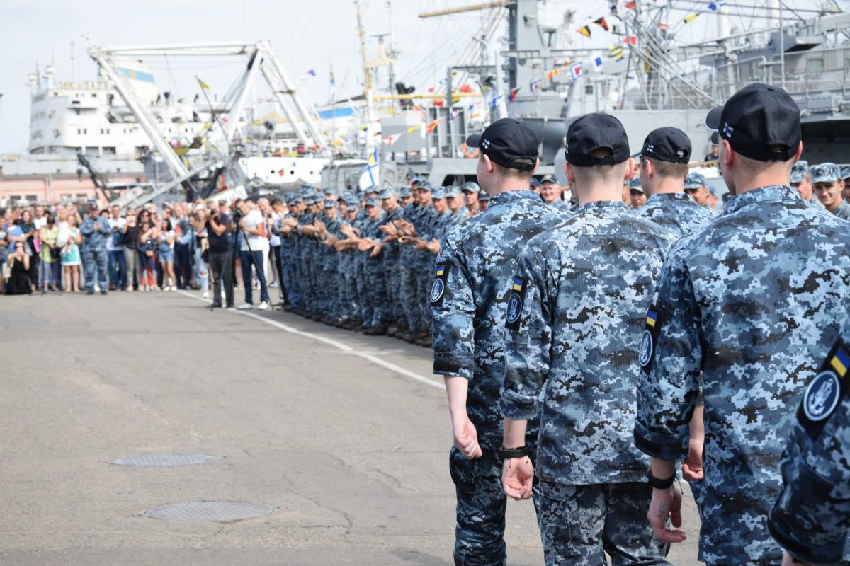 Photo from the Naval Forces of the Armed Forces of Ukraine
