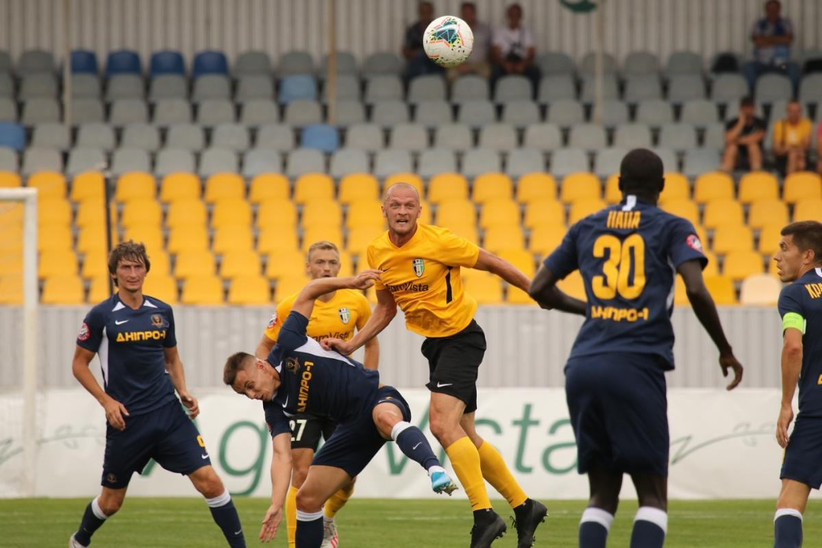 Александрия забила два безответных гола / фото: fco.com.ua