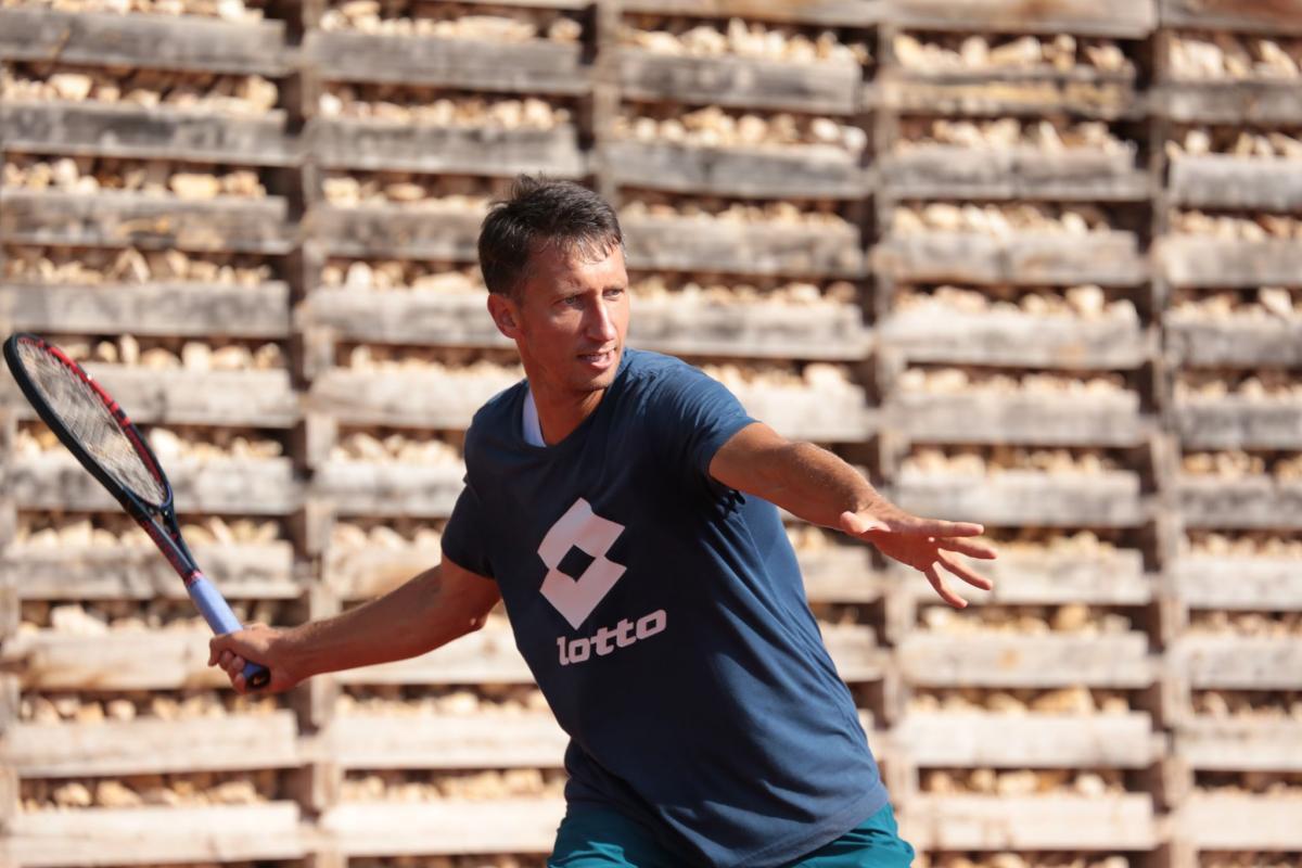 Сергій Стаховський здобув перемогу у своєму матчі / фото: tennisua.org
