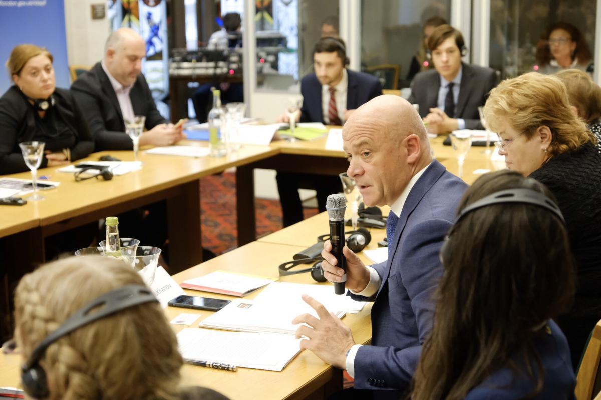 Труханов выступил на конференции в Лондоне