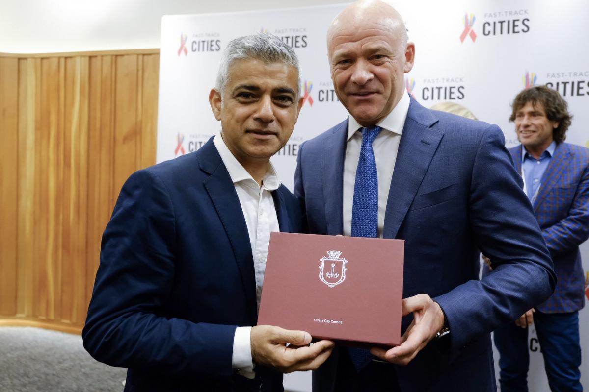 Труханов встретился с мэром Лондона