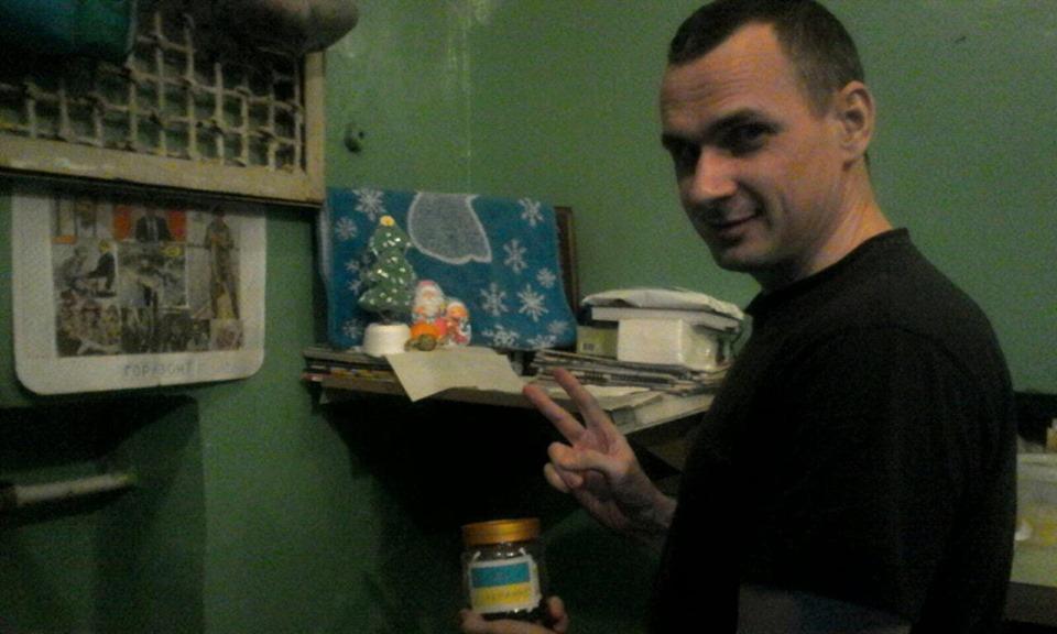 Сенцов у російській в'язниці / фото facebook/oleg.sentsov